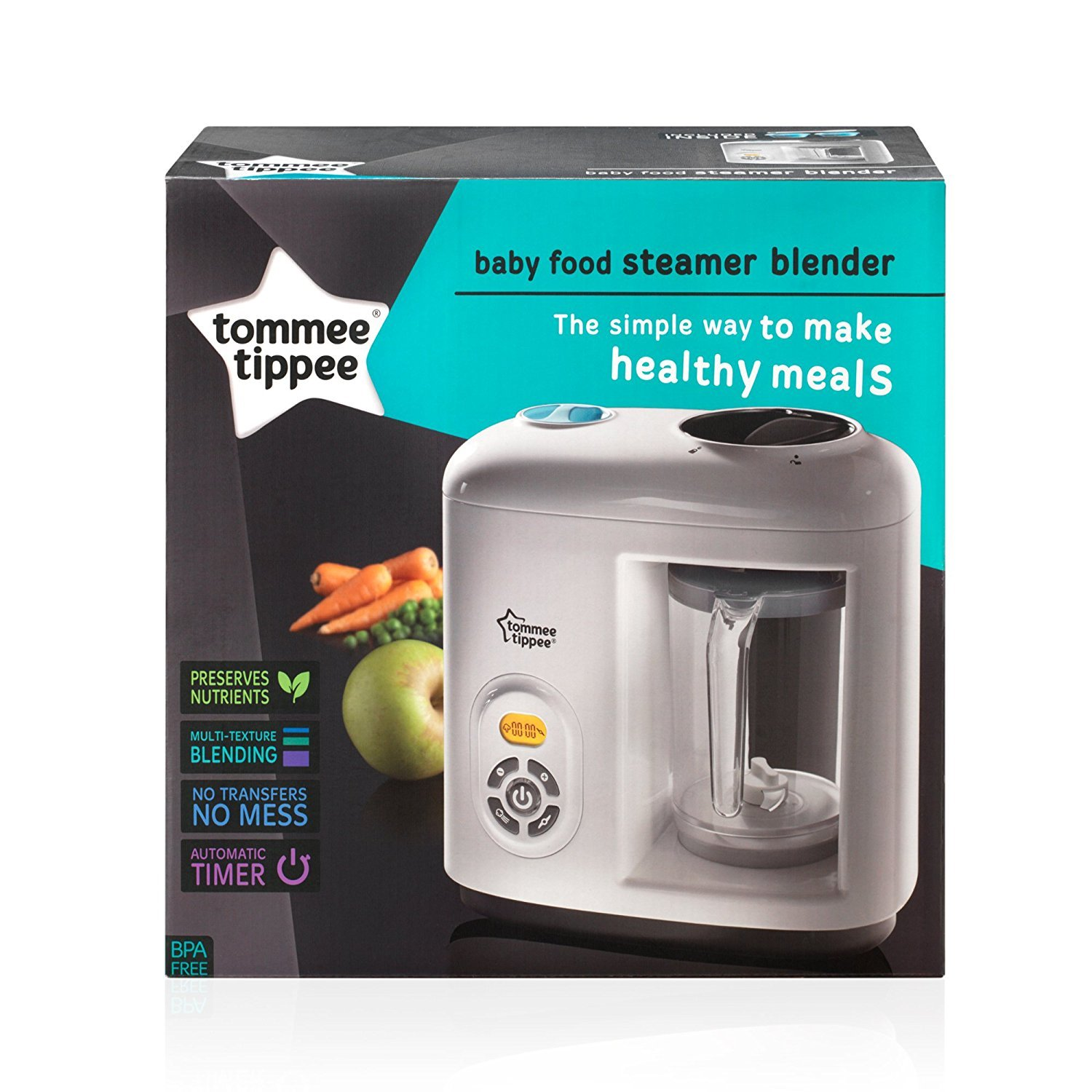 Tommee Tipee Baby Food steamer and blender | Debbies Baby Centre ...